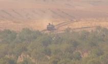 Suriye sınırında top atışları yoğunlaştı