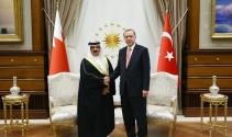 Erdoğan, Bahreyn Kralı İsa Bin Salman ile görüştü