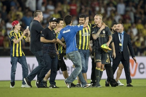 Grasshoppers 0-2 Fenerbahçe