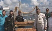 Yavuz Sultan Selim Köprüsüne özel börek hazırlandı