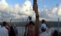 Yavuz Sultan Selim Köprüsünde ilk selfieler çekildi