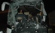 Başkentte otobüs kazası! 1 ölü, 14 yaralı