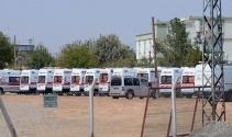 Sınırda ilk müdahale ekipleri hazır bekletiliyor