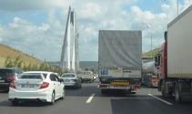 3. köprüdeki Selfie çılgınlığı trafiği felç etti