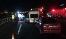 İstanbulda zincirleme kaza: 1i ağır 6 yaralı
