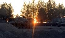 1 askerin şehit olduğu Cerablus'a askeri sevkiyat