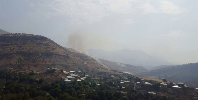 Şemdinli'de askeri üs bölgelerine saldırı