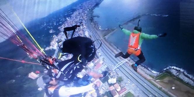 260 metreden serbest atlayış