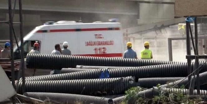 İzmir'de 43 katlı binada dehşet: 1 işçi öldü, 1 işçi ağır yaralandı