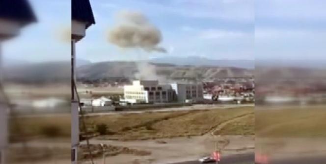 Bişkek'teki Çin Büyükelçiliği yakınlarında patlama