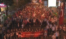 Beşiktaşta fener alaylı bayram coşkusu