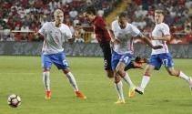 Türkiye 0-0 Rusya (Türkiye Rusya maç özeti)