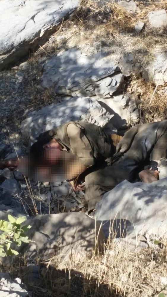 TSK: 3 terörist öldürüldü