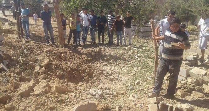 Teröristler mezarlığa el yapımı patlayıcı tuzakladı