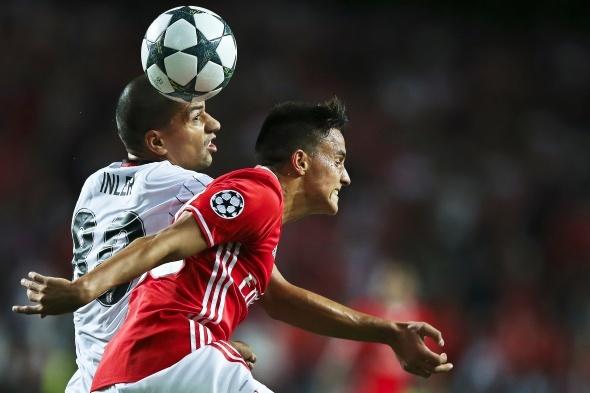 Benfica, Beşiktaş maçından kareler