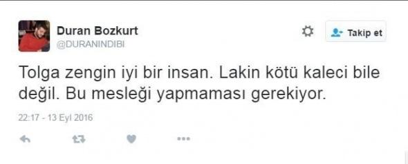 Tolga Zengin'in yediği gol sosyal medyayı salladı