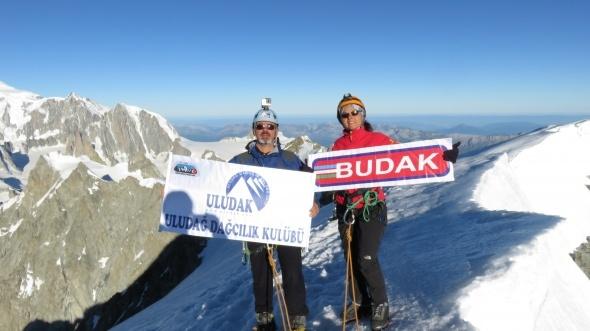 Alpler'in zirvesinde adrenalin ve keyif bir arada