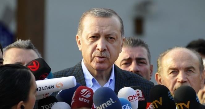 """Cumhurbaşkanı Erdoğan: """"Türkiyeye yönelik tehditlerin en çok istismar ettiği alan eğitim"""""""