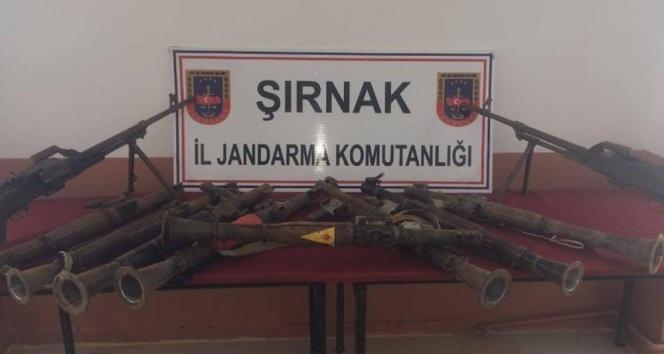 Şırnakta eylem hazırlığındaki teröristlere operasyon