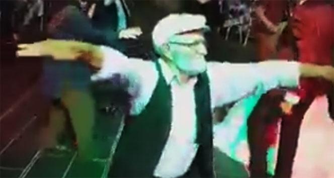 80lik dedenin düğündeki dansı izlenme rekorları kırdı