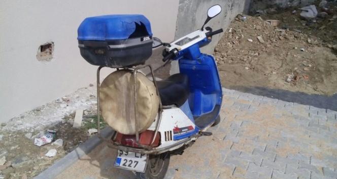 Zabıtanın çalınan motosikletini polis buldu