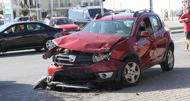 Didimde trafik kazası: 3 yaralı