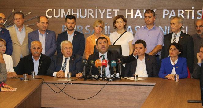 CHPden MHPye sert eleştiri