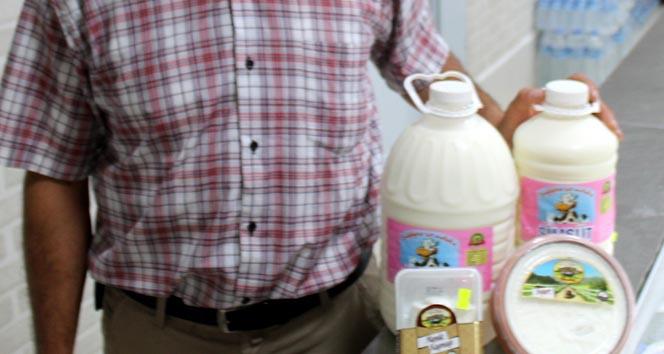 Alo süt hattını kurdu, hayatı değişti