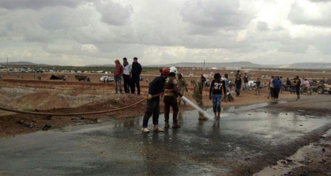 DAEŞ, Azezde bombalı intihar saldırısı düzenledi