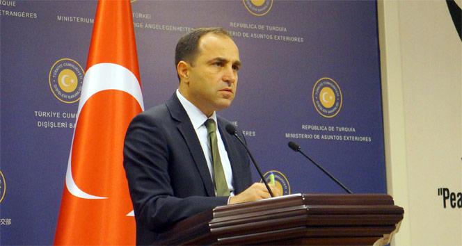 Dışişleri Bakanlığı Sözcüsü Bilgiçden Kırım açıklaması