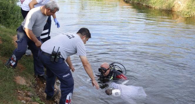 Kanalda bulunan cesedin kimliği belirlendi