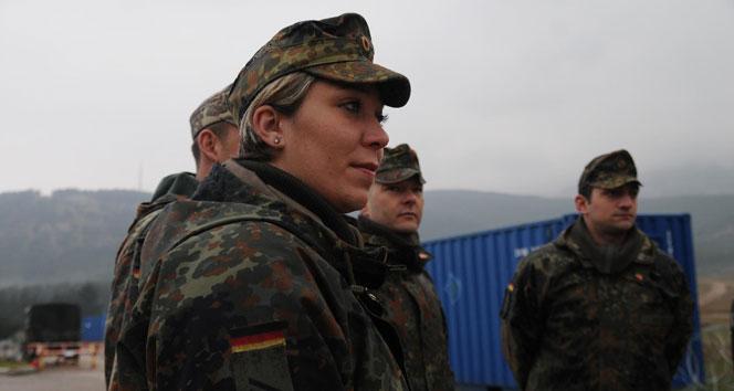 Alman askerleri Iraktan ayrılıyor