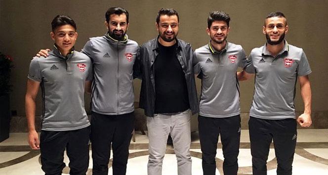 Gaziantepsporda 4 oyuncunun sözleşmesi uzatıldı