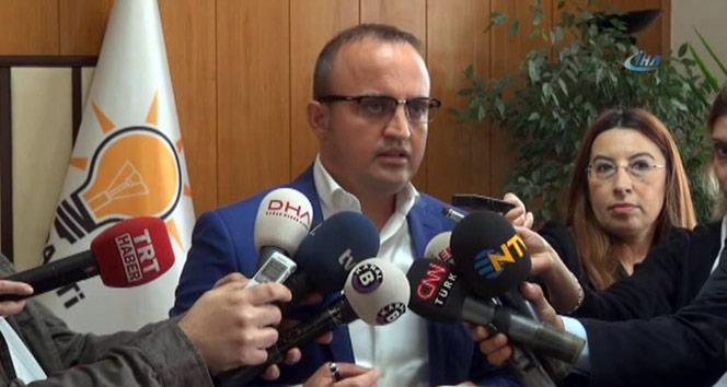 AK Parti Grup Başkanvekili Turandan CHPye ağır itham