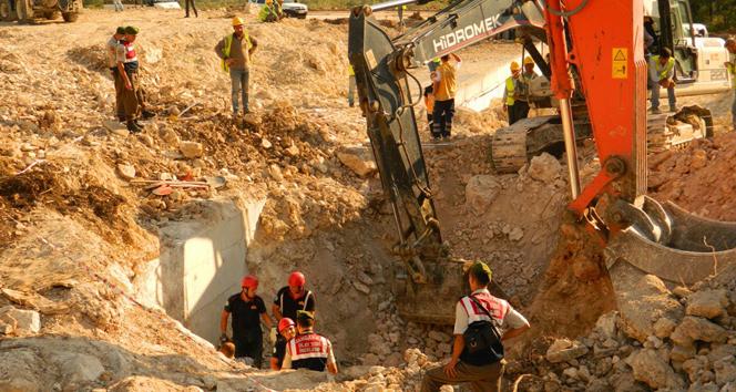 İstanbul-İzmir Otoyolu inşaatında göçük: 1 ölü