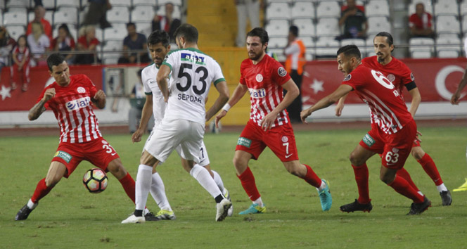Antalyaspor: 0 - Akhisar Belediyespor: 0