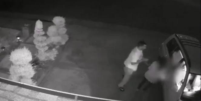 Silahlı saldırgan kadını böyle gasp etti