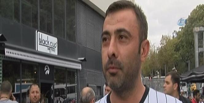 Beşiktaş taraftarları galibiyetten emin