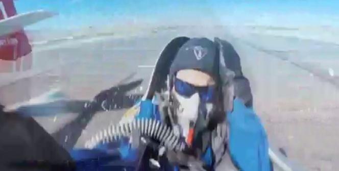 Şanslı pilotun inanılmaz kurtuluşu