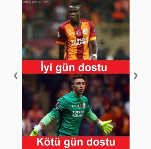 Beşiktaş - Galatasaray Derbisi capsleri çok güldürecek