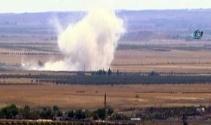 Sınırın sıfır noktasında şiddetli patlamalar meydana geldi