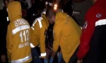 İstanbulda feci kaza : 1 ölü, 2 yaralı
