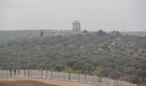 Hatay-Suriye sınırında dikkat çeken görüntü