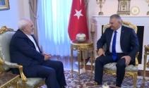 Başbakan Yıldırım, İran Dışişleri Bakanı Cevad Zarifi kabul etti