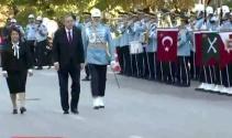Cumhurbaşkanı Erdoğanı Mecliste polis tören mangası karşıladı