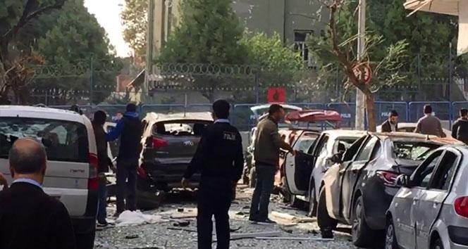 İstanbulda karakol yakınlarında patlama!