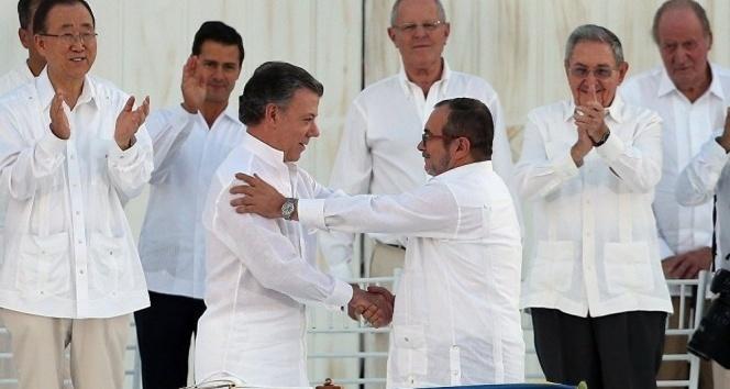 Kolombiyada ateşkes yıl sonuna kadar uzatıldı