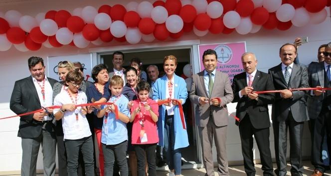 Gülben Ergen 35'inci anaokulunu Ordu'da açtı