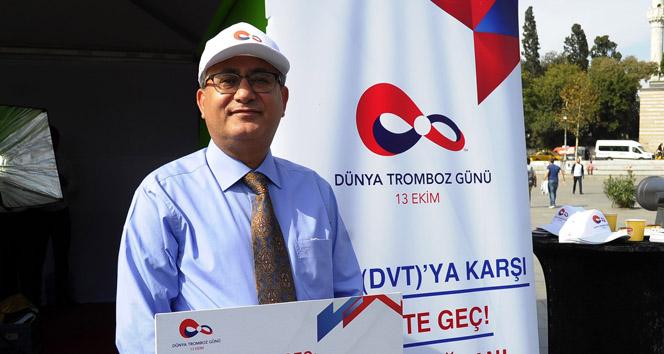 Prof. Dr. Muzaffer Demir: Tromboz öldürebilir ve önlenebilir bir hastalık