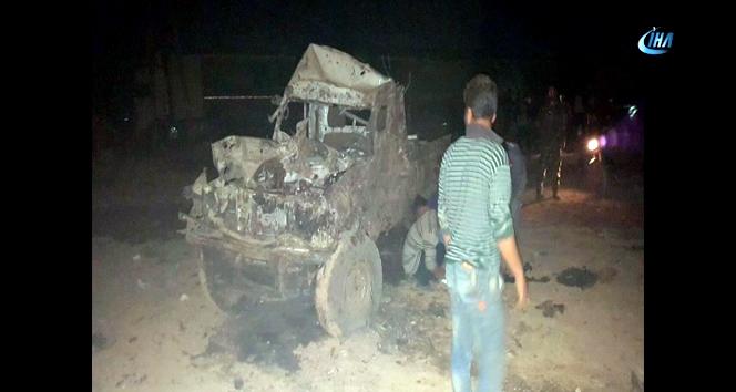 DEAŞ, ÖSOnun kontrol noktasına bombalı araçla saldırısı düzenledi